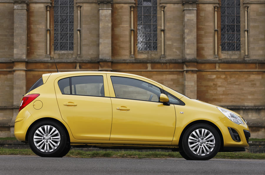 Vauxhall Corsa side profile