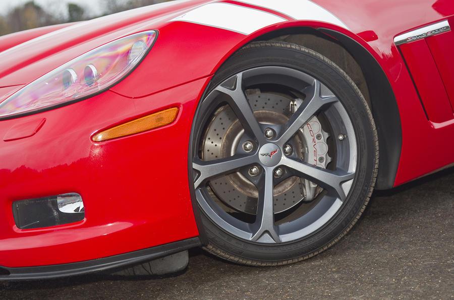 20in Corvette Grand Sport Convertible alloys