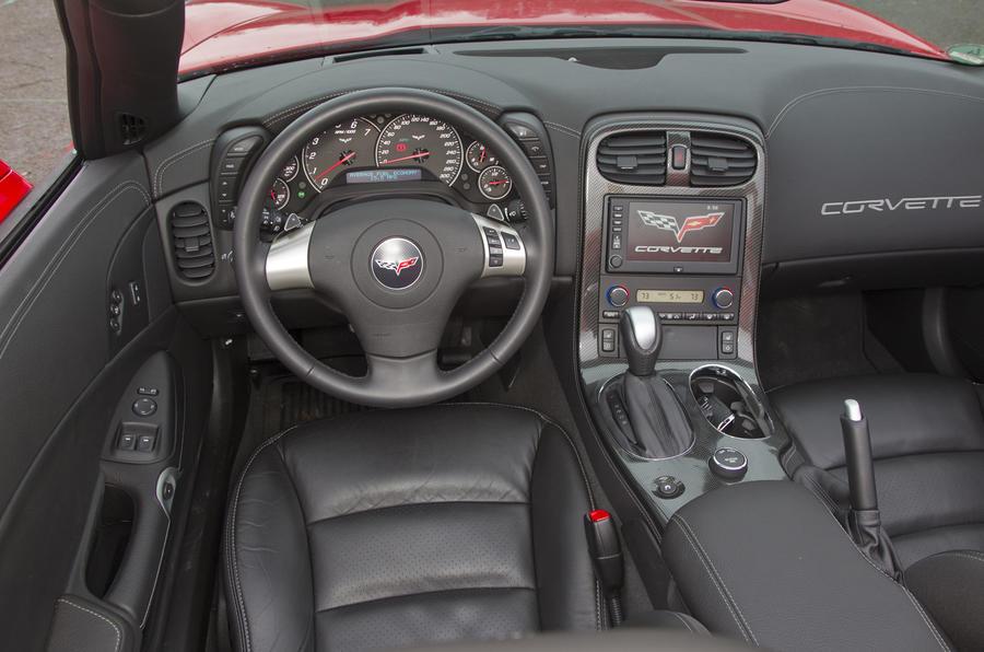 Corvette Grand Sport dashboard