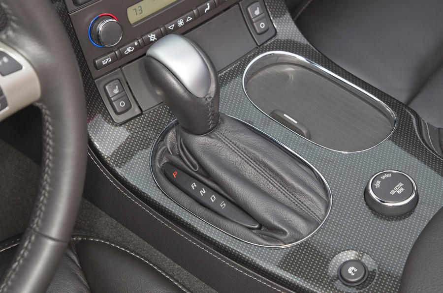 Corvette Grand Sport automatic gearbox