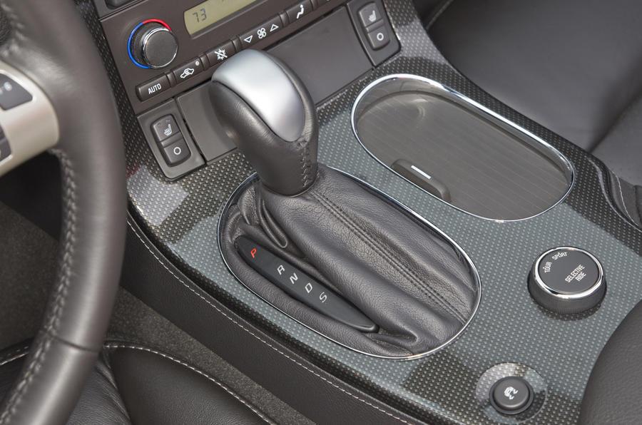 Corvette Grand Sport automatic gearbox