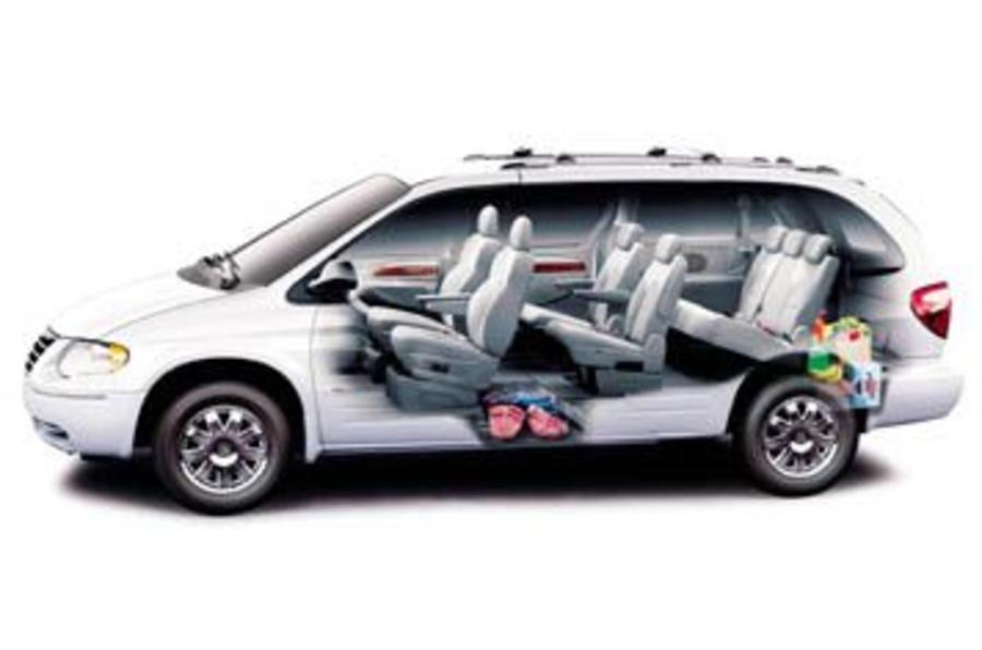 chrysler grand voyager 2 8 crd review autocar. Black Bedroom Furniture Sets. Home Design Ideas