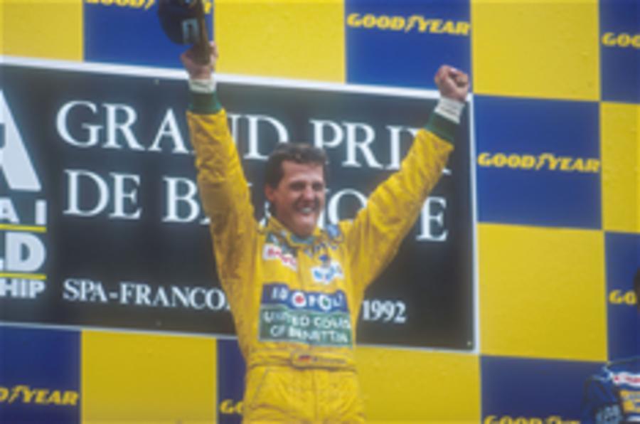 Schumacher's career in pics