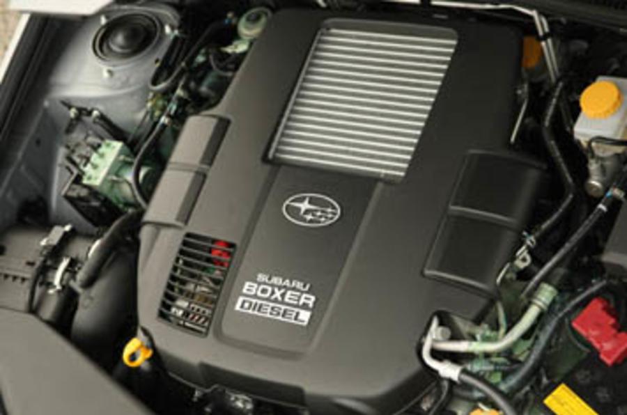 Subaru Legacy 2 0td Review Autocar
