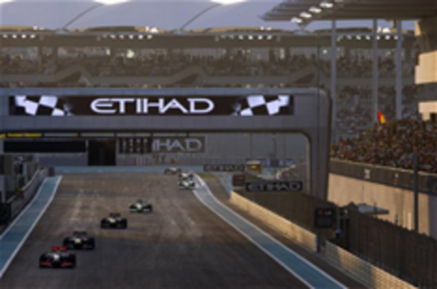 Abu Dhabi GP hi-res pics
