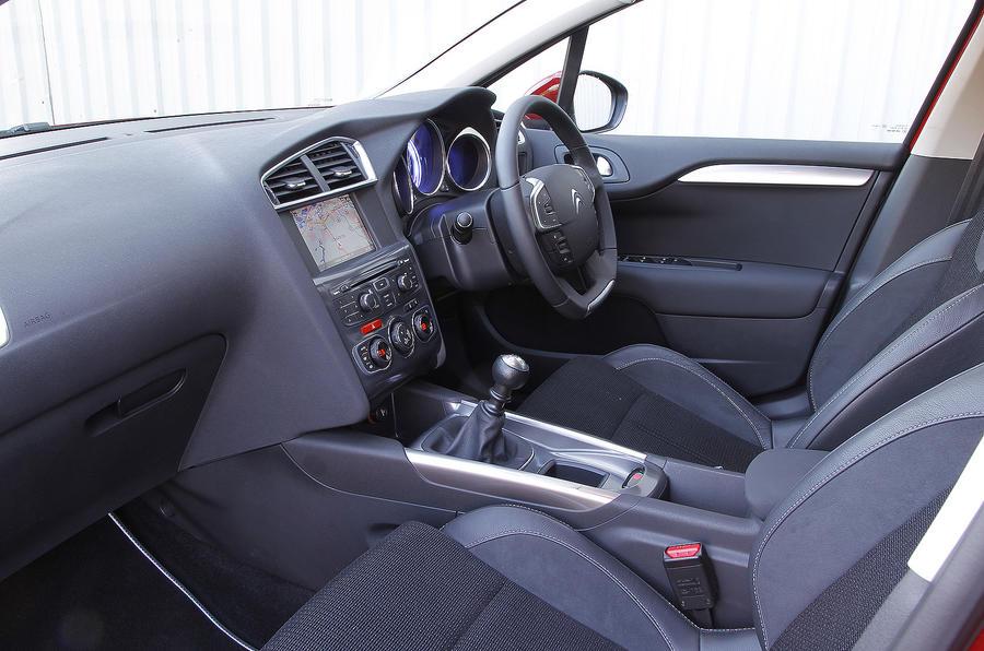 Citroën C4 interior