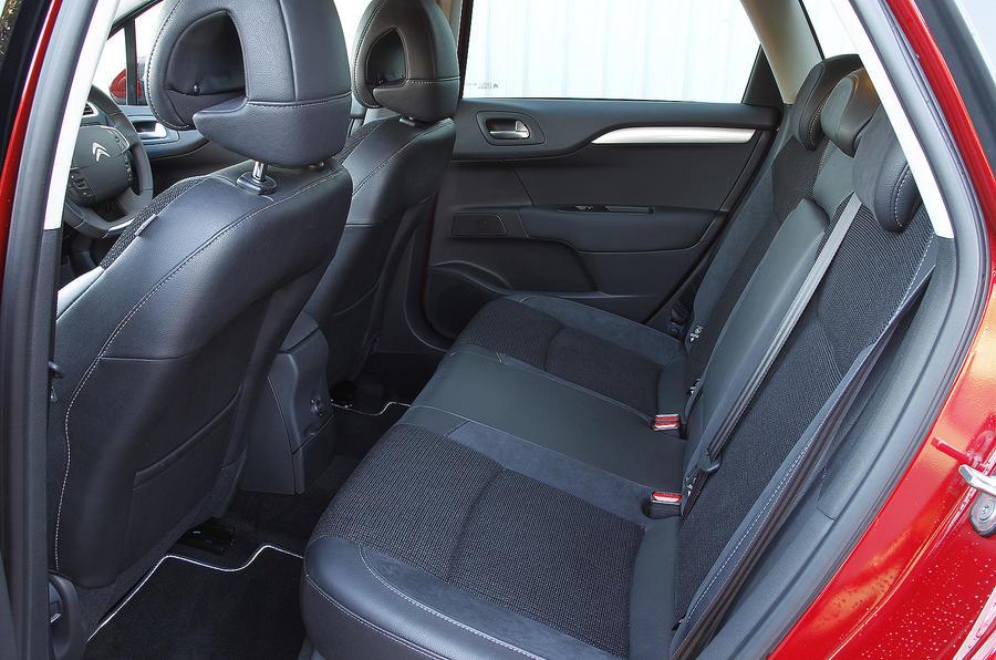 Citroën C4 rear seats