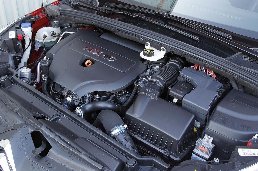 2.0-litre Citroën C4 diesel engine