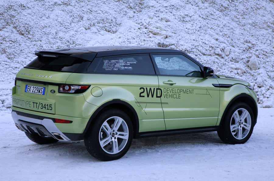range rover evoque ed4 2wd first drive. Black Bedroom Furniture Sets. Home Design Ideas