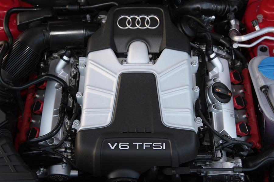 3.0-litre V6 Audi S4 engine