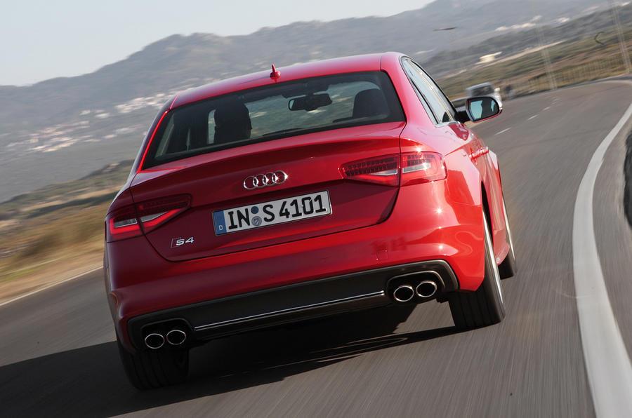 Audi S4 rear
