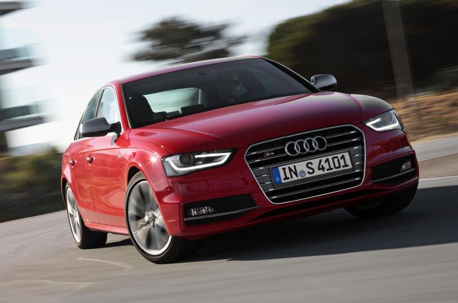 Audi S4 cornering