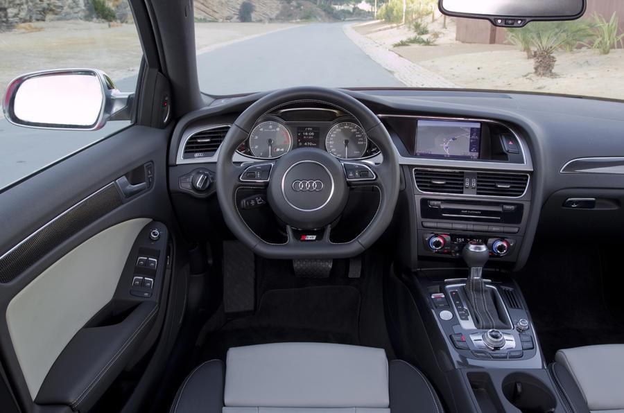 Audi S4 dashboard