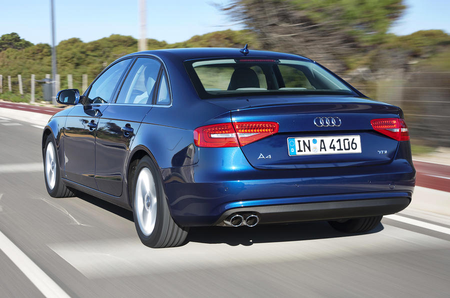 Audi A4 2.0 TDIe SE rear