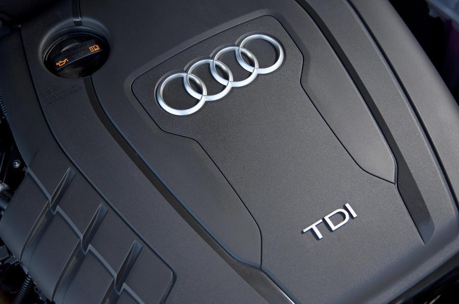 2.0-litre TDI Audi A4 engine