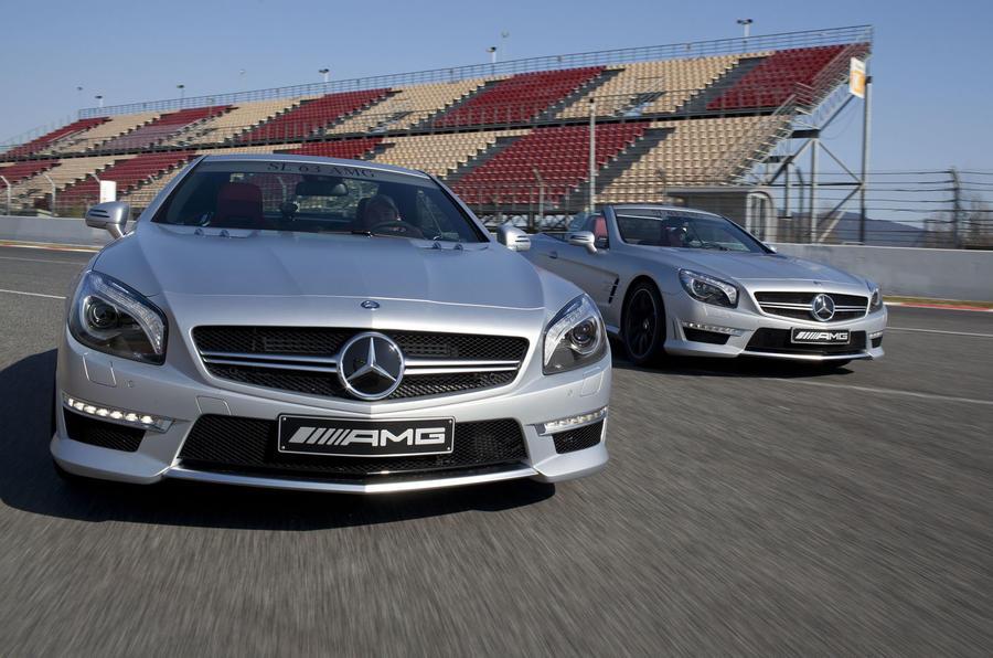 Mercedes-Benz reveals new SL63 AMG