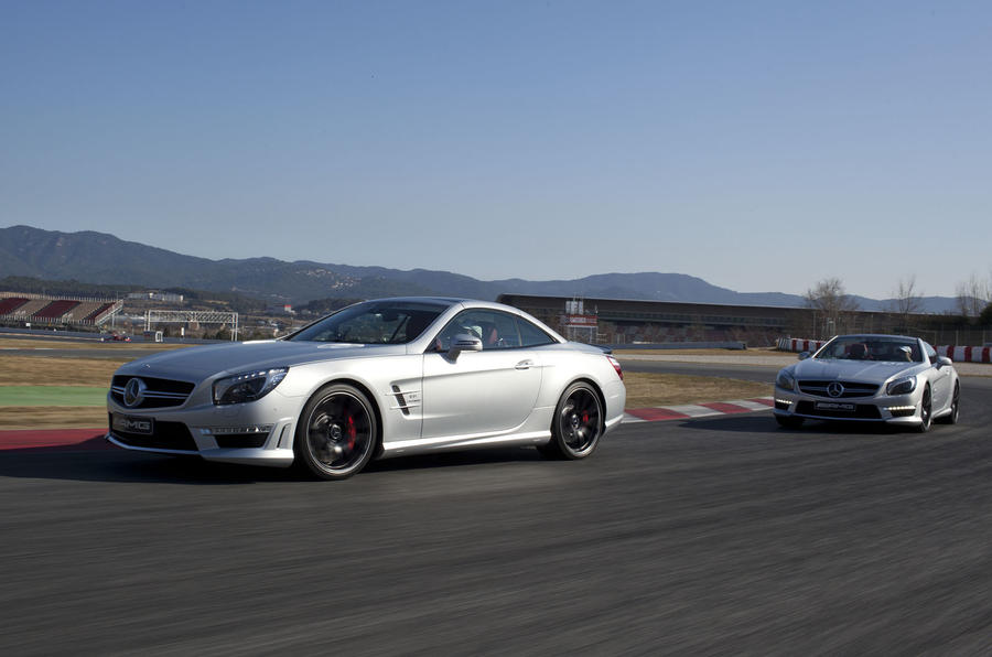 Mercedes-Benz reveals new SL63 AMG