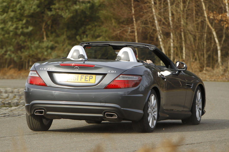 mercedes benz slk 250 cdi sport review autocar. Black Bedroom Furniture Sets. Home Design Ideas