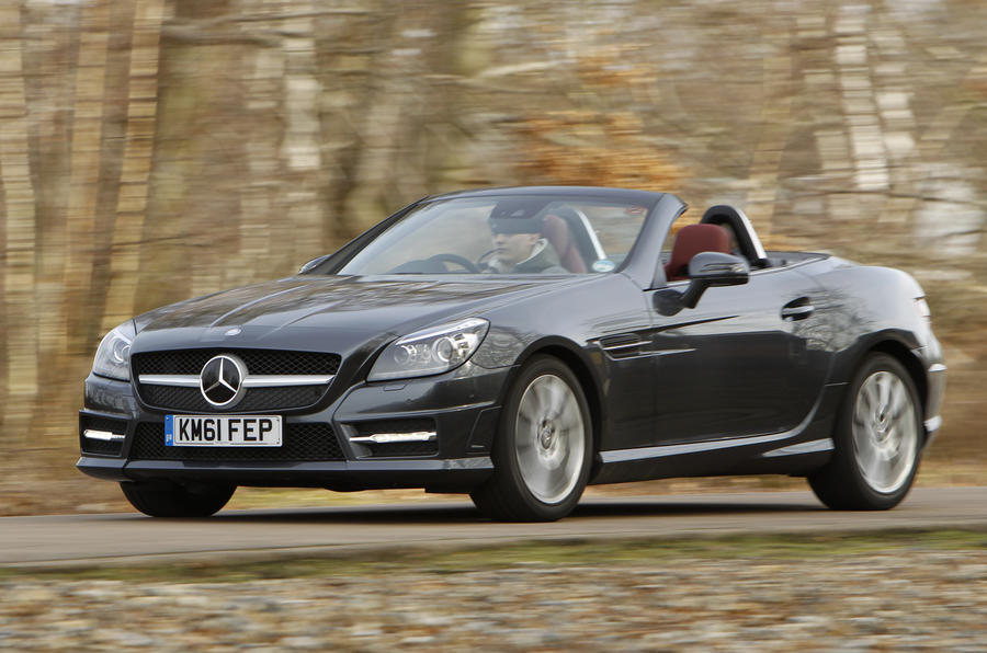 mercedes review first drives benz autocar slk car