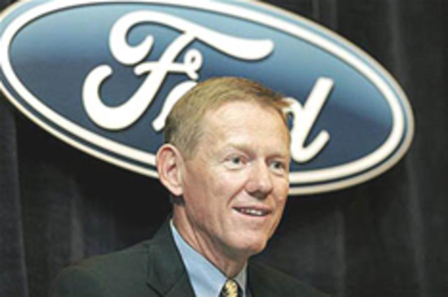 Ford boss gets 5 million shares