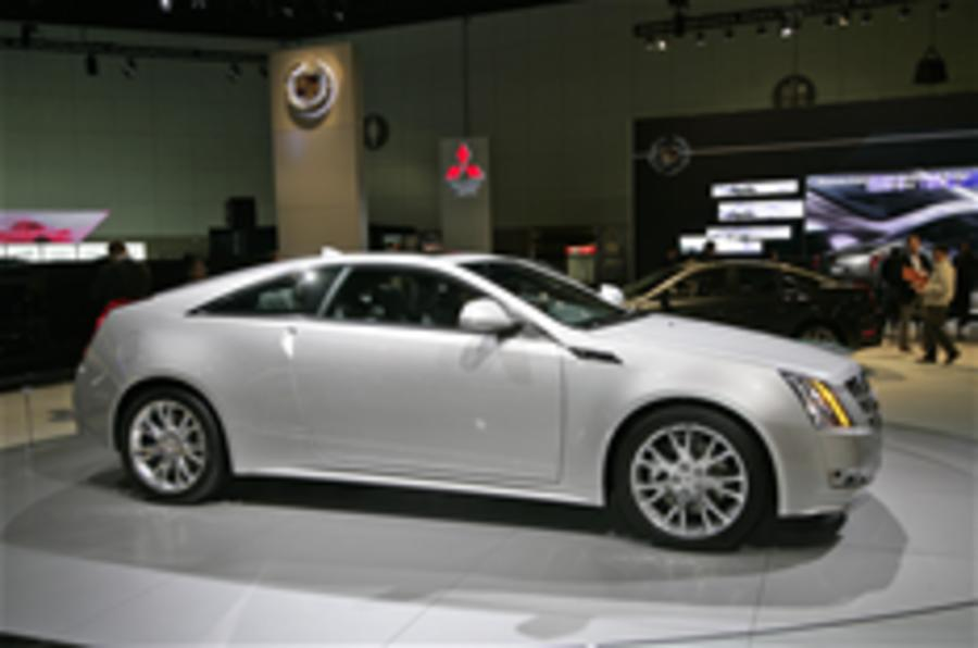 LA show: Cadillac CTS Coupe