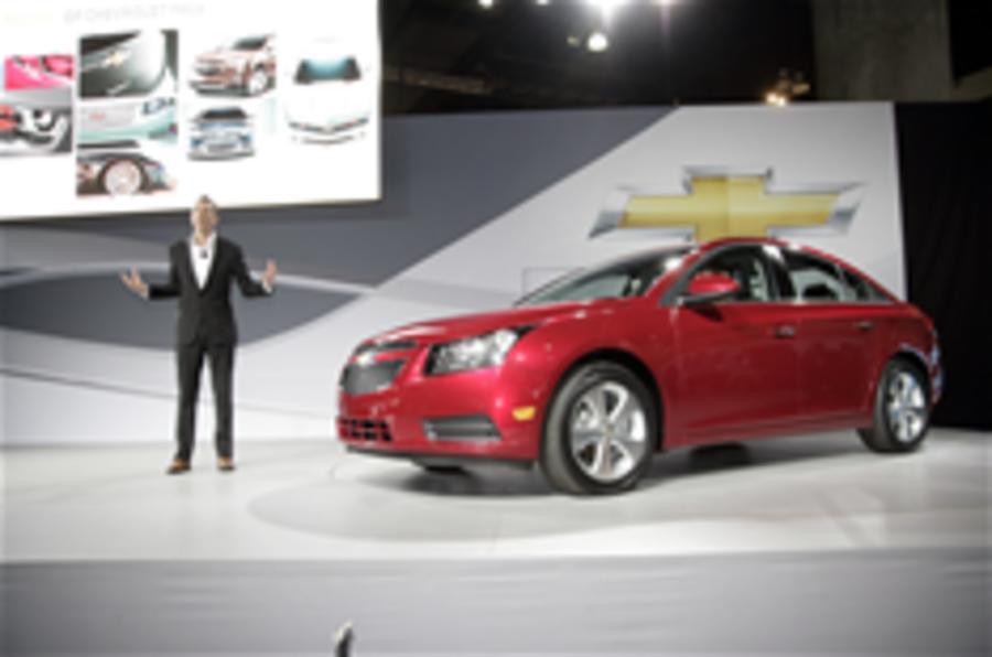 LA show: US Chevrolet Cruze