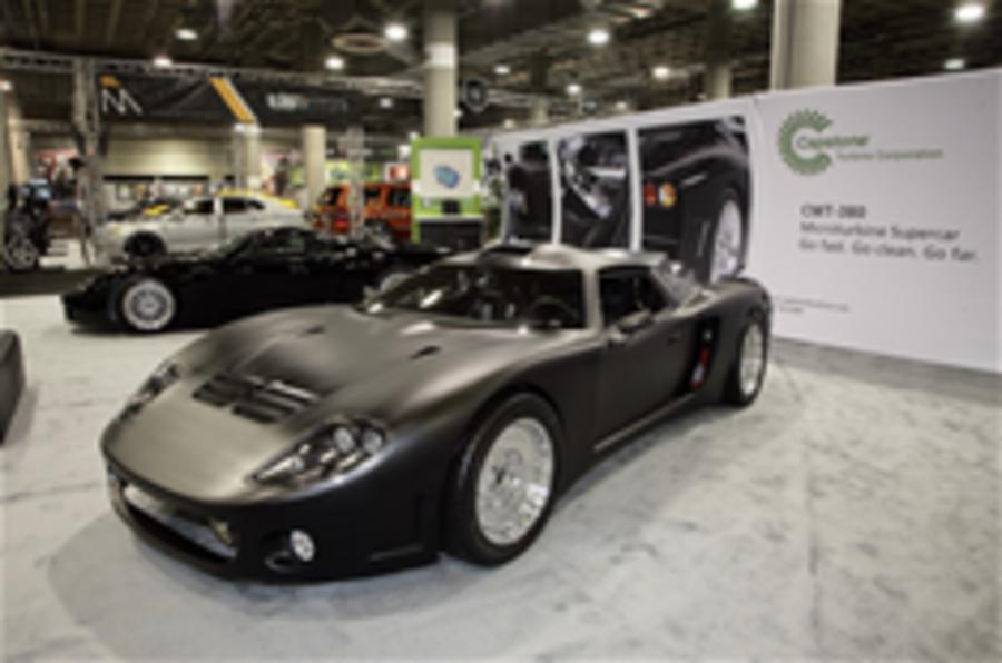 Star cars of the LA motor show