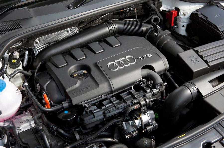 1.8-litre TFSI Audi TT engine