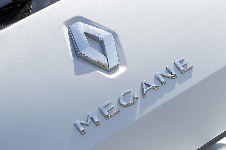 Renault Megane badging