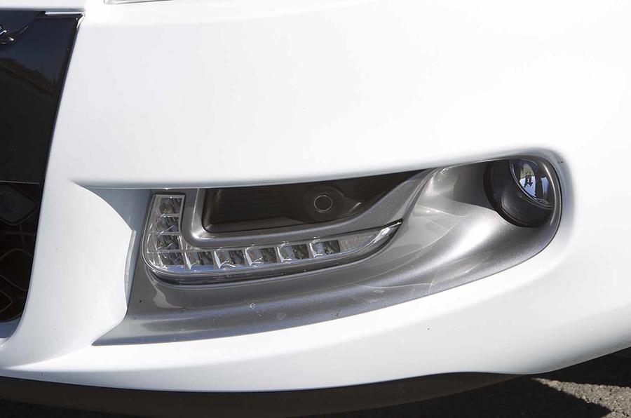 Renault Megane front spoiler