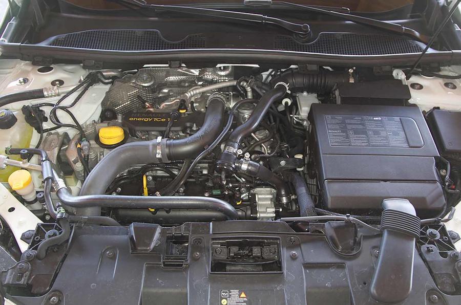 1.2-litre Renault Megane petrol engine