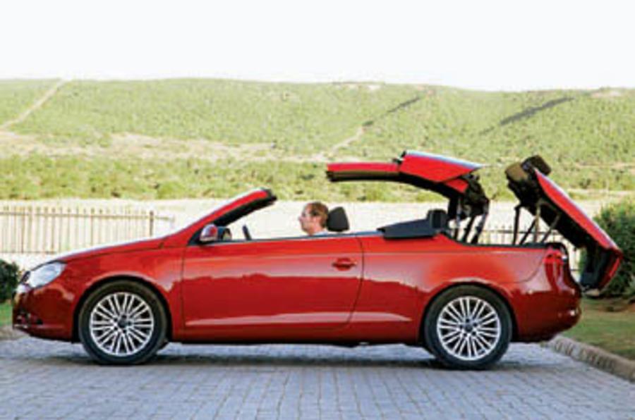 vw eos 2 0 tfsi sport review autocar. Black Bedroom Furniture Sets. Home Design Ideas