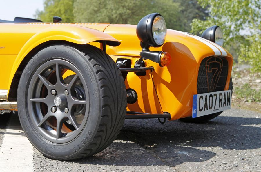 Caterham Seven Supersport nose