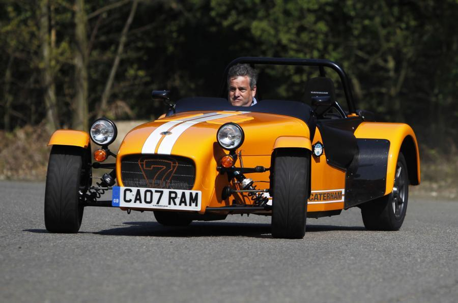 Caterham Seven Supersport hard cornering