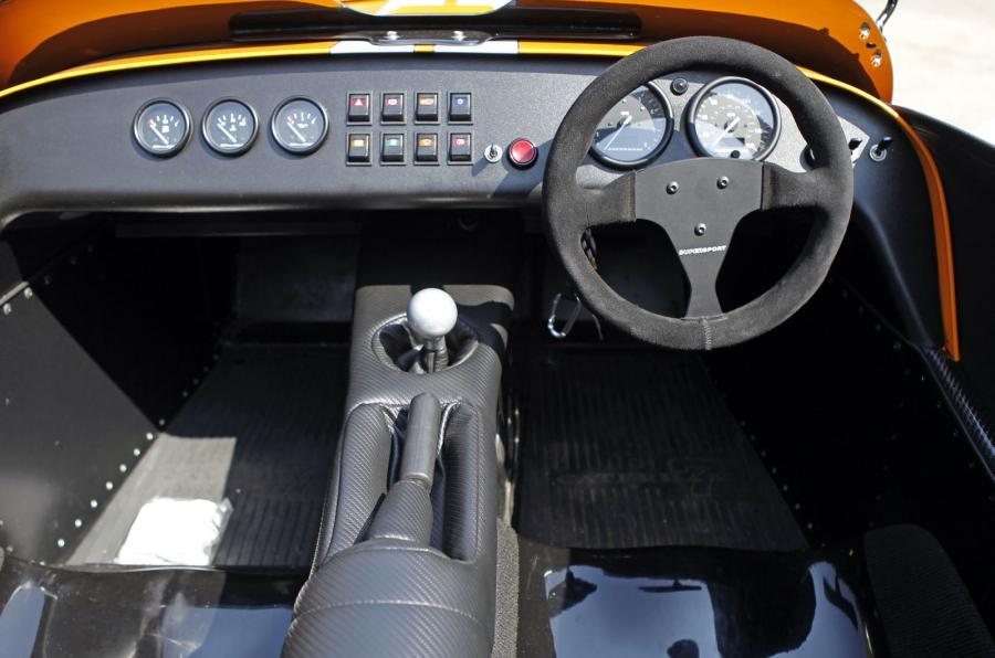 Caterham Seven Supersport interior