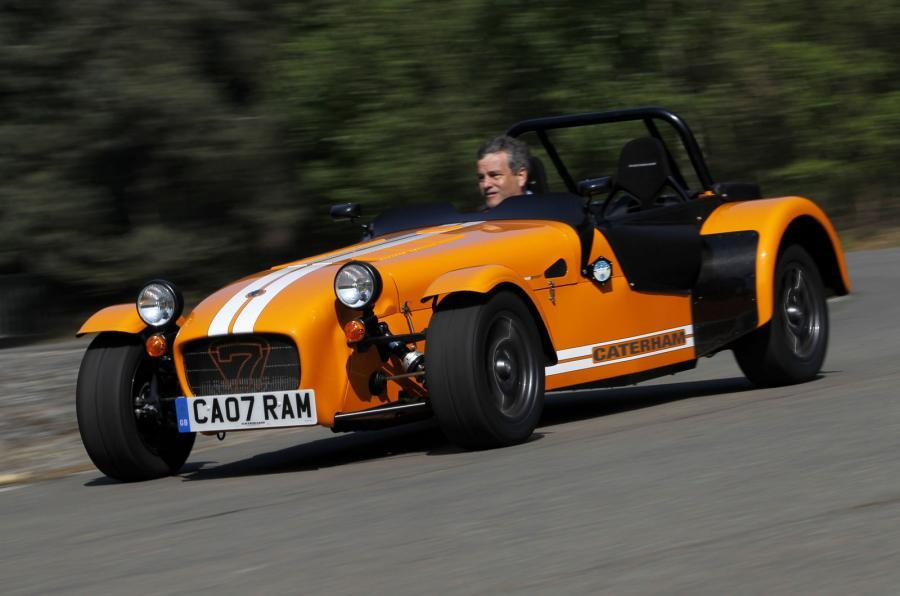 Caterham Seven Supersport cornering