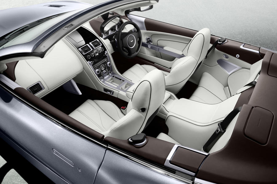 Aston Martin Virage Volante interior