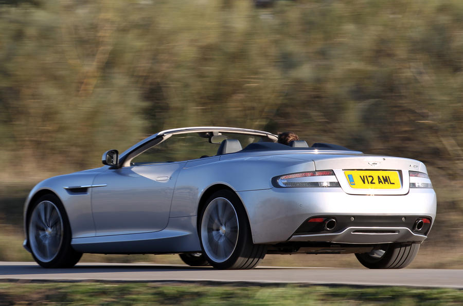 Aston Martin Virage Volante rear