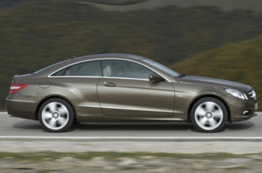 Mercedes E250 CDI BE Coupe