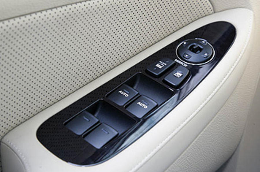 Hyundai Genesis door card