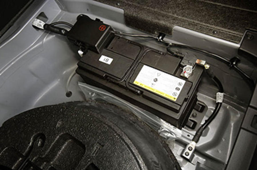 Hyundai Genesis car battery
