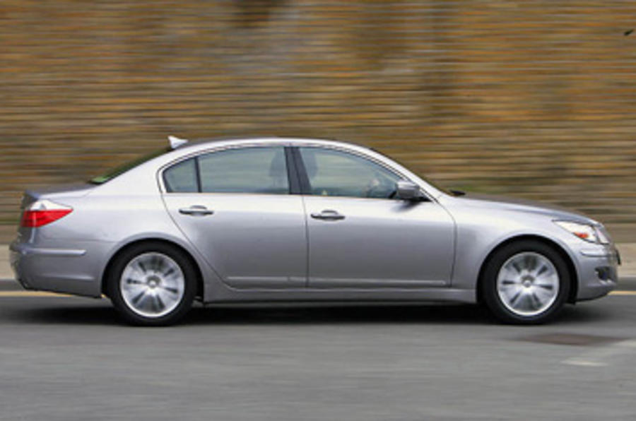 Hyundai Genesis side profile