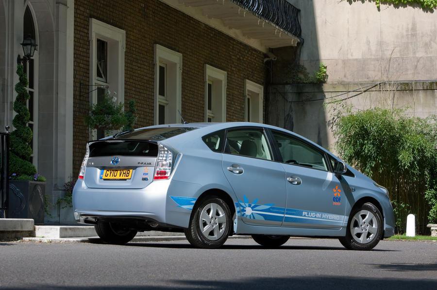 Toyota Prius plug-in rear