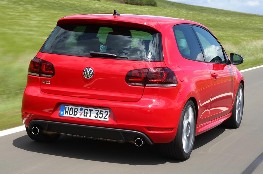 Volkswagen Golf GTI Edition 35 rear