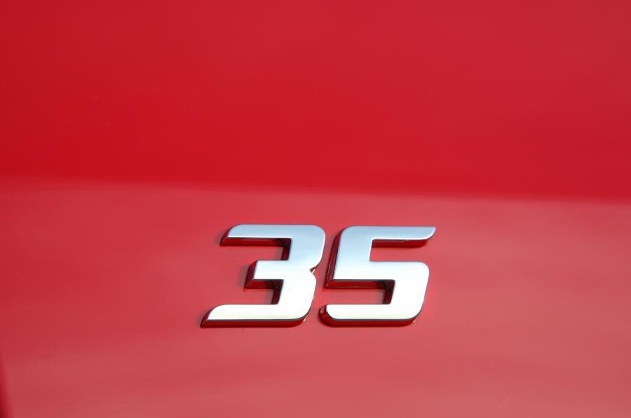Volkswagen Golf GTI Edition 35 badging