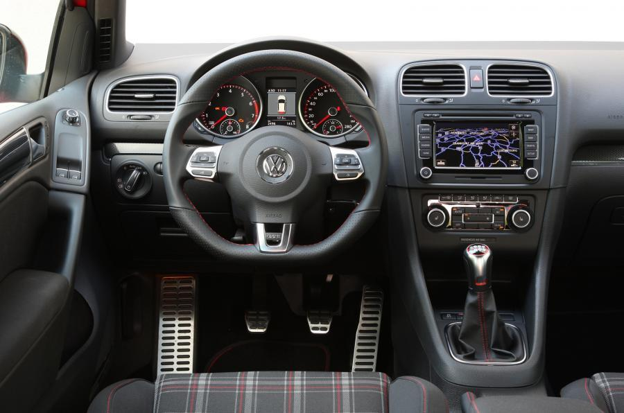 Golf GTI Edition 35 dashboard