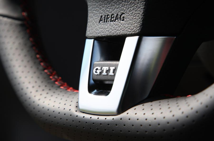 Volkswagen Golf GTI badging