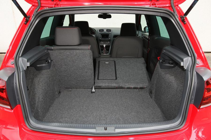 Volkswagen Golf GTI Edition 35 boot space