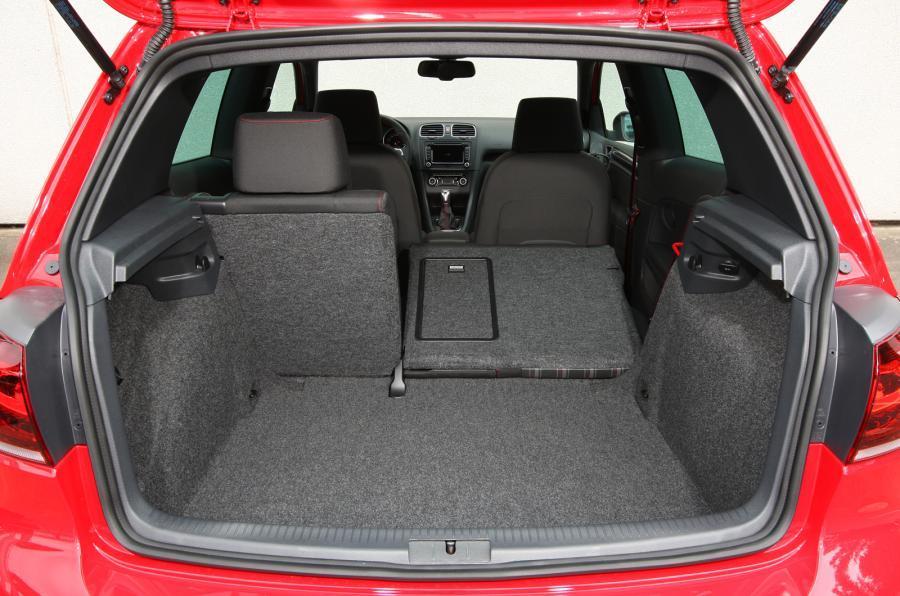 Volkswagen Golf GTI Edition 35 boot space