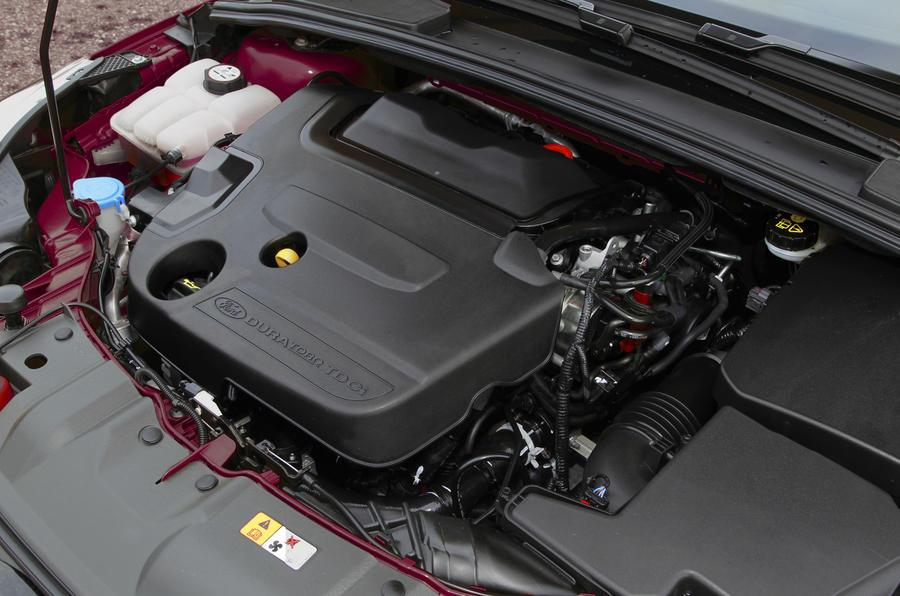 1.6-litre Ford Focus Estate diesel engine